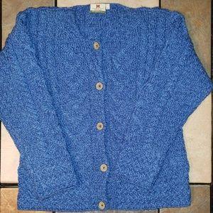 Carraig Donn Merino Wool Knit Cardigan